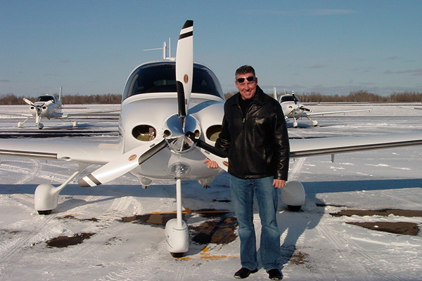 Father and husband Chuck Matson lost his life in a tragic airplane crash