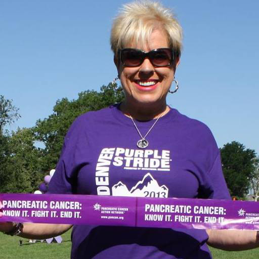 Purple Stride for Pancreatic Cancer