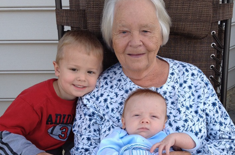 Callen Johnson's Grandmother has Alzheimers