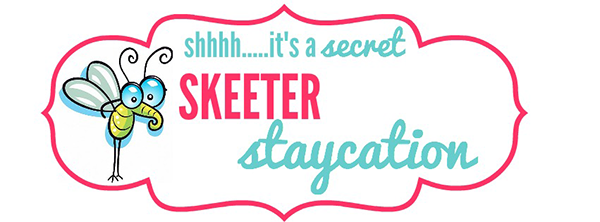 Skeeter staycation blog post