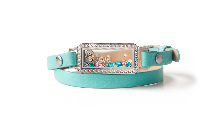 Live Sparkly Wrap Bracelet
